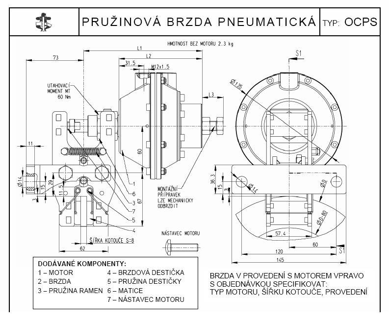 Pivko Prumyslove Spojky Brzdy Hridele Brzda Pneumaticka